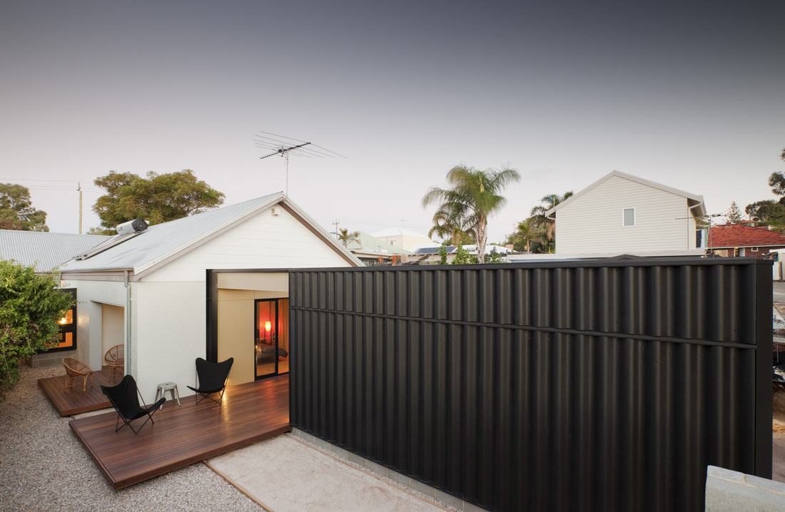 Solomon street mosman park fremantle architect philip for Extension garage prix